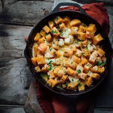 easy cheesy stove top butternut squash healthy seasonal recipes