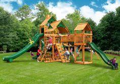 Big Backyard Swing Set Backyard Swing Traditional Kids Playset 5 Backyard Playground And