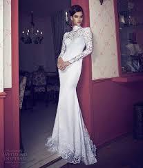 aliexpress com buy high neck long sleeve lace wedding