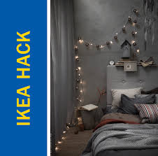 ikea hack of the week christmas lights for a boho sanctuary vibe