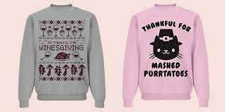 thanksgiving sweaters 15 thanksgiving sweaters for 2017