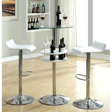 pub table and chairs with storage white pub table set white round table with chairs fantastic white