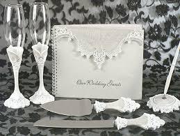 wedding guest book and pen cs set wf wedding reception accessories