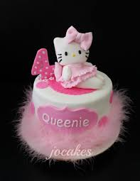 Hello Kitty Halloween Cake by 4th Birthday Cake Jocakes