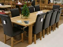 10 Seat Dining Table Dimensions 10 Chairs Dining Table Gallery Dining