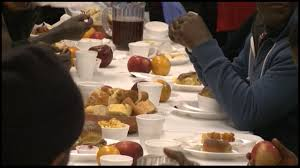 atlanta falcons feed the homeless story waga