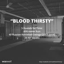5 rounds for time 600 meter run 40 russian kettlebell swings 2