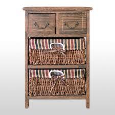 storage unit with wicker baskets rattan cabinets u2013 homenique
