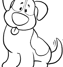 dog coloring pages for toddlers simple coloring pages for boys just kids book sheet high quality