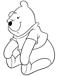 pooh bear coloring pages 18 seasonal colouring pages