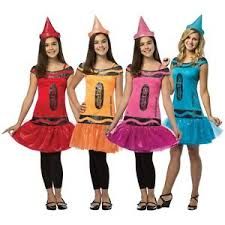Halloween Costumes Tweens Crayola Crayon Costume Teen Tween Funny Girls Group Halloween