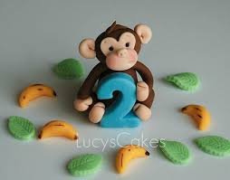 monkey cake topper best 25 monkey birthday cakes ideas on monkey
