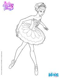 giselle main character ballet barbie printable coloring
