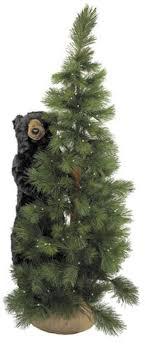 6 pre lit scotch pine artificial tree with black
