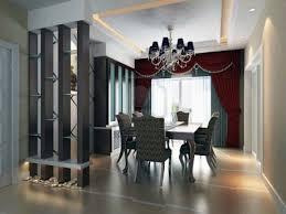 Elegant Dining Room Contemporary Interior Design With L Car Design For Dining Room