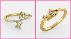 girls gold rings images Simple gold rings for girls latest 2017 2018 jpg