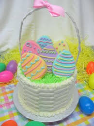 decorating easter baskets easter cakes http www cake decorating corner