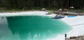 man builds giant homemade swimming pool houston chronicle