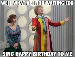 Doctor Who Birthday Meme - happy 70th birthday to doctor who s sixth doctor colin baker imgur