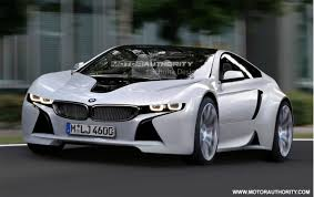 sports cars bmw rendered bmw sports car based on vision efficientdynamics concept