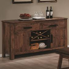 maddox rustic brown wood buffet table steal a sofa furniture