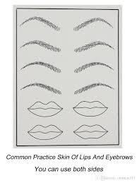 permanent makeup practice skin blank tattoo designs practice skins
