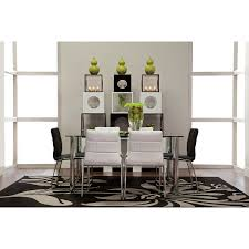 napoli white rect table u0026 4 chairs