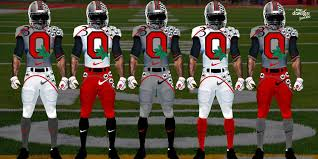 design gridiron jersey total frat move these ncaa football concept uniforms are incredible