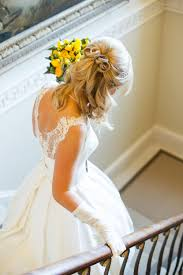 fancy and romantic half up half down wedding hairstyles wedding