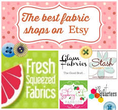best fabric shops on etsy so sew easy