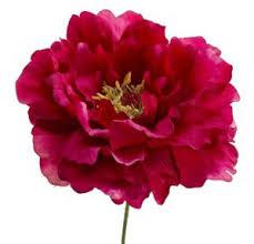 artificial peonies peony flower magenta