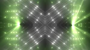 fractal green and gold abstract background movement of colored