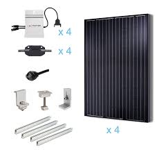 Panel Kit Homes Amazon Com Renogy 1000 Watts 1kw Grid Tied Solar Panel Complete