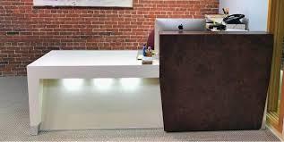 Two Person Reception Desk Modern Receptionist Desk Desk U0026 Workstation Modern Reception Desk