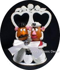 Potato Head Halloween Costumes U0026 Potato Head Wedding Cake Topper 2 Heart