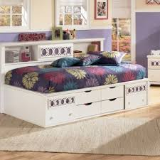 bedroom furniture full size captains bed decor with wood teak
