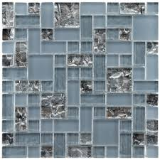 Mosaic Tiles Backsplash Kitchen Decorating Modern Mosaic Tile Backsplash Kitchen By Mirror