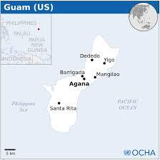 Map Of Guam Guam Map