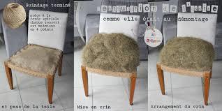 refaire l assise d une chaise avant était caramel mais c était avant etapes le d