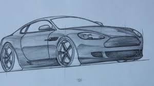 stanced cars drawing drawn ferarri mustang pencil and in color drawn ferarri mustang