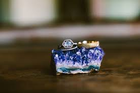 Geode Ring Box Rings U2013 Green Wedding Shoes Weddings Fashion Lifestyle Trave