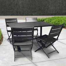 Folding Table And Chair Sets Folding Patio Chair Set Patio Furniture Conversation Sets