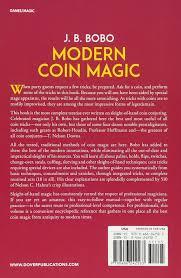 modern coin magic 116 coin sleights and 236 coin tricks j b
