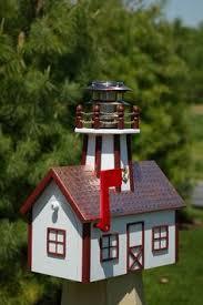 Nautical Themed Mailboxes - lighthouse mailbox nautical coastal beach pinterest mail