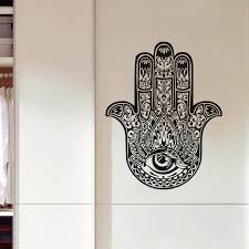 Buddha Home Decor Yoga Mandala Om Indian Buddha Symbol Mehndi Vinyl Wall Decal Home