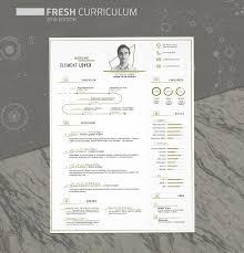 Adobe Illustrator Resume Template Free Fresh Resume Template Free Design Resources