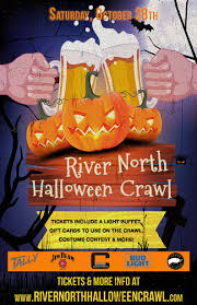 river north halloween crawl in chicago 2017 tickets sat oct 28