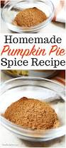 pumpkin pie spice an easy to make recipe for baking