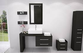 Ultra Modern Bathroom Vanity Bathroom Best Black Modern Bathroom Vanity Set For White Bathroom
