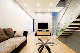 living room design under stairs decoraci on interior